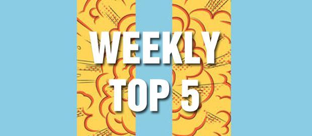 Top 5 de la semaine.
