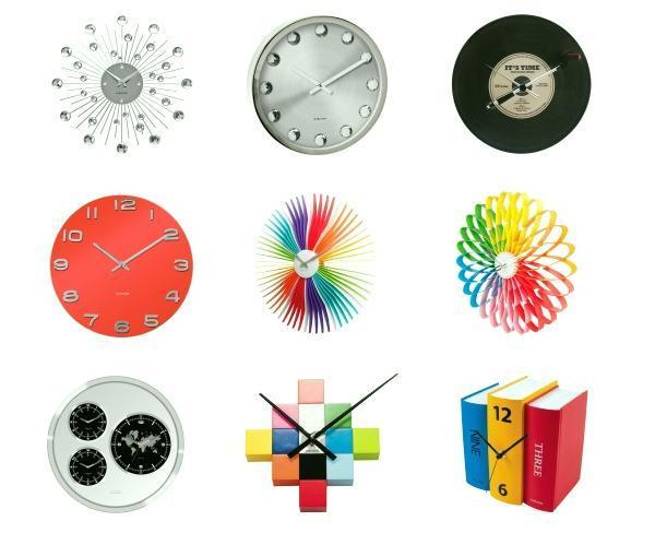 Horloges murales koziol Karlsson