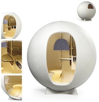 design : la sphère d'isolement | À voir - Meuble Telephone Design