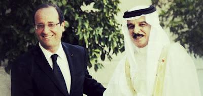 Hollande et le Barheïn: les vraies questions et le faux procès