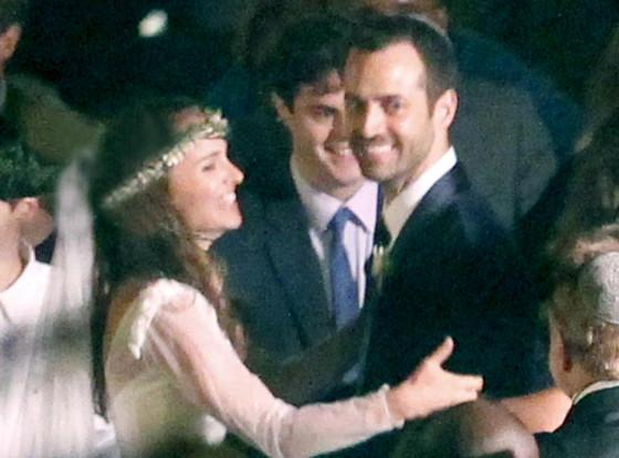 Mariage wedding Natalie Portman Rodarte wedding dress