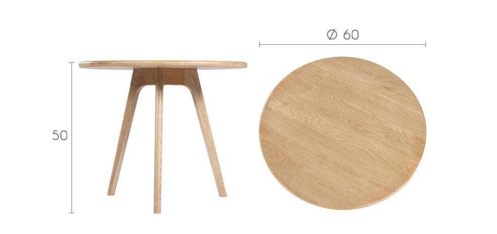 Vente priv e num ro 33 la table basse en ch ne native - Vente privee table basse ...