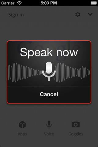 Google Voice Search : un concurrent à Siri sur iOS