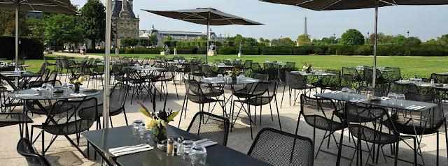 Une terrasse pour le d jeuner direction les tuileries paperblog - Jardin des tuileries restaurant ...