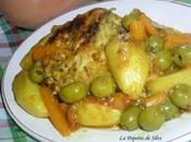 Tajine Poulet Pommes Terre Olives