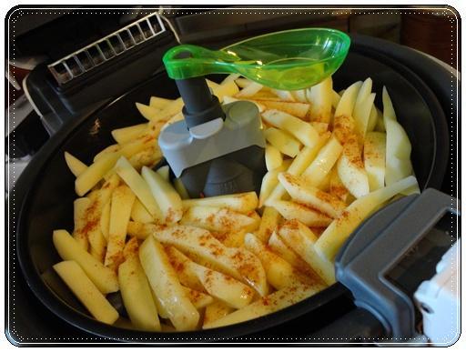 frites au paprika dans friteuse actifry paperblog. Black Bedroom Furniture Sets. Home Design Ideas