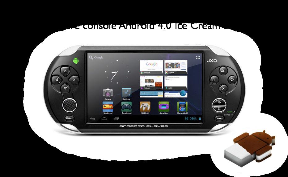 Console portable sous android la jxd s5110 meilleure que la ps vita d couvrir - Console de salon android ...