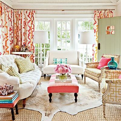 salon r tro boh me chic lire. Black Bedroom Furniture Sets. Home Design Ideas