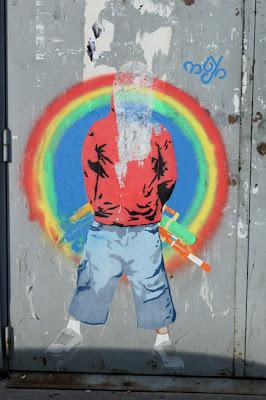 Street art - le trio