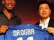 Chine succombe folie Drogba