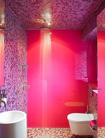Beautiful Salle De Bain Rose Fushia Pictures - Amazing House Design