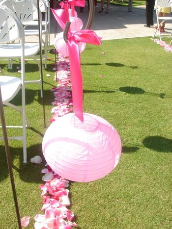 10 ides de dcoration de lalle de crmonie - Piquet Porte Lanterne Mariage