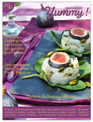 Des idées de recettes estivales à découvrir dans le nouveau numéro de Yummy