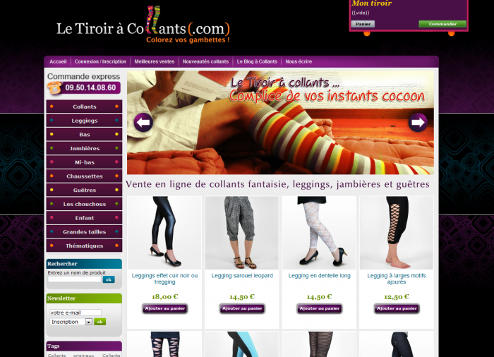 Tmoignage de e-commerant  Camille de la boutique Le Tiroir  collants
