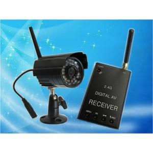camera sans fils 720p avec r cepteur enregistreur sur tv ou pc avec d tection de mouvement et. Black Bedroom Furniture Sets. Home Design Ideas
