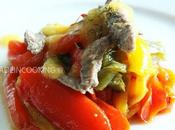 Salade boeuf poivrons confits sauce abricots