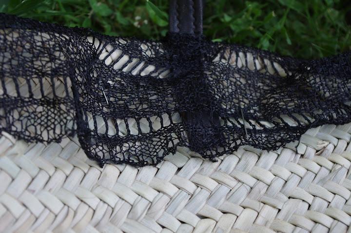 DIY le panier en osier customisé