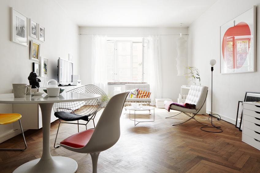 Visite d co un appartement scandinave louer paperblog - Appartement design scandinave emmahos ...