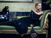 Comment Kate Moss pour Salvatore Ferragamo Automne 2012