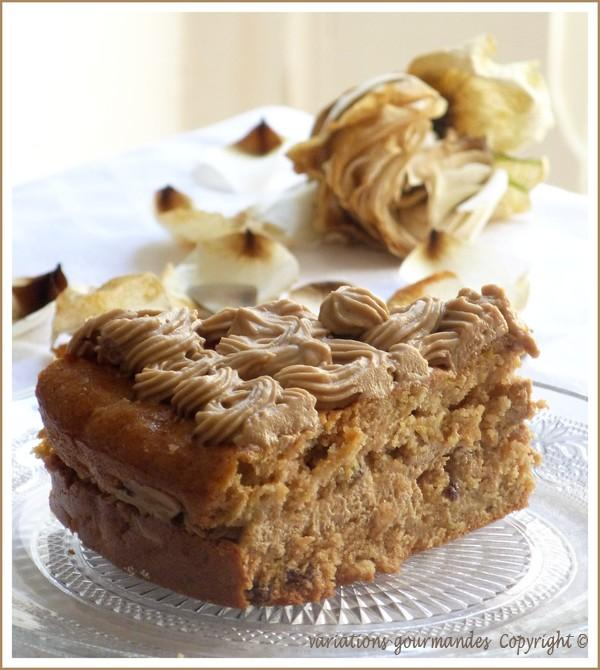 Parfait Aux Pommes Et Au Sirop D érable: Gâteau Aux Pommes Et à L'huile D'olive, Glaçage Au Sirop D
