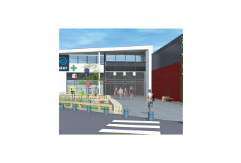 Projet extension geant casino fenouillet