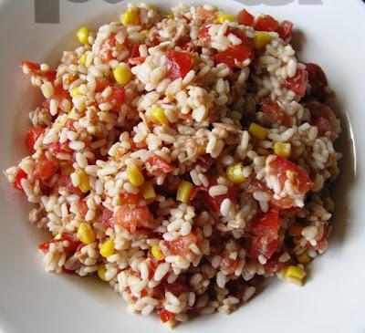 Salade de riz lire - Salade d ete composee ...
