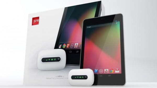 SFR annonce la disponibilité de la Google Nexus 7