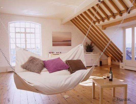 lit hamac paperblog. Black Bedroom Furniture Sets. Home Design Ideas