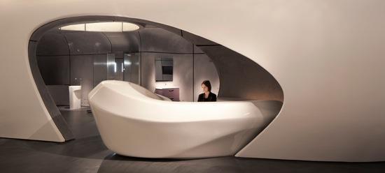 Roca London Gallery Zaha Hadid Architects Paperblog
