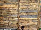 Récupérer bois palettes pour faire porte
