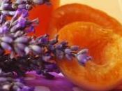 Confiture d'abricots lavande
