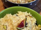 Risotto gorgonzola figues fraîches