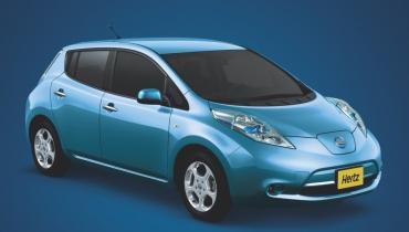 Transport écologique : Hertz et Nissan se lancent dans la voiture électrique de location