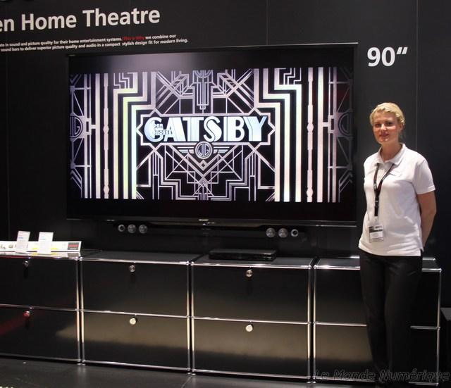 ifa 2012 sharp lance une tv de 90 pouces full hd. Black Bedroom Furniture Sets. Home Design Ideas