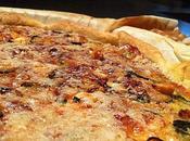 Encore recette tarte Tarte Courgettes Feta Chèvre Pignons pain