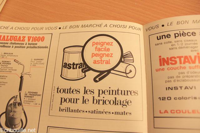 un catalogue vintage 1971 bricolage maison le bon march rue de s vres d couvrir. Black Bedroom Furniture Sets. Home Design Ideas
