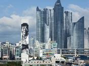 plus grande fresque d'Asie Busan Street