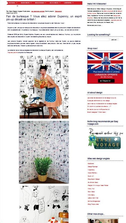 Deco design anglais la blog d co so british paperblog for Design anglais decoration