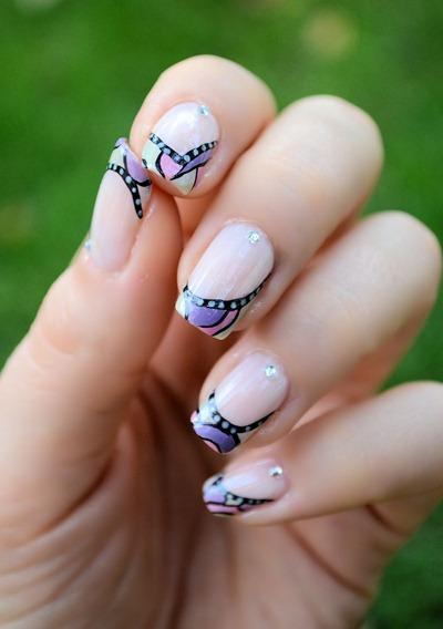 deco ongles mosaique