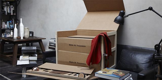 la malle w trousseau d couvrir. Black Bedroom Furniture Sets. Home Design Ideas