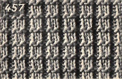 tricoter 1 rang de jours