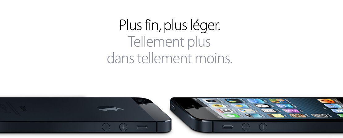 iPhone 5 : Tout ce que vous devez savoir