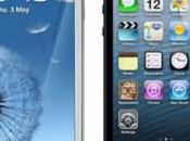 iPhone Galaxy comparatif deux nouveaux Smartphone poids lourd