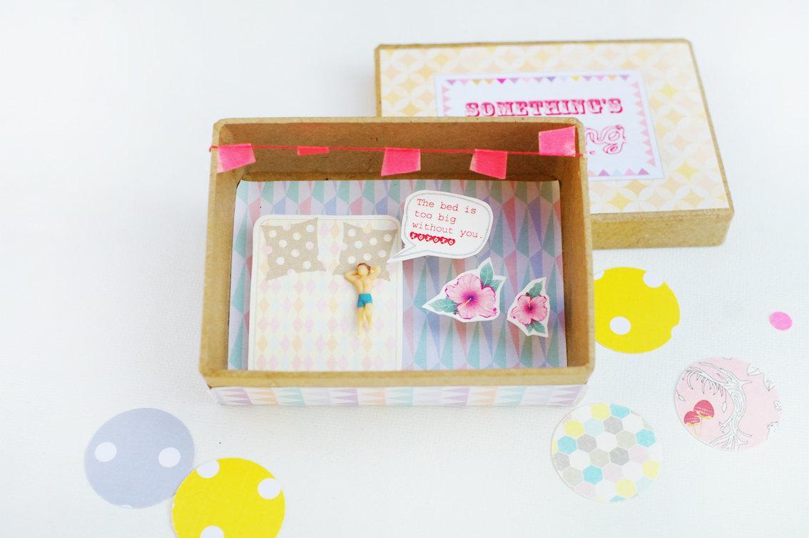 Un petite boite pour une grande d claration paperblog - Petite boite allumette a personnaliser ...