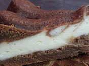 Gâteau marbré chocolat caramel faisselle