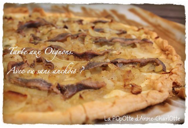 tarte aux oignons avec ou sans anchois paperblog