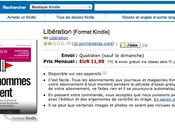 Libération propose l'envoi Kindle abonnés