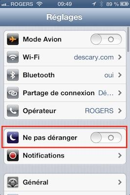iphone ios 6 les nouveaut s de l application t l phone paperblog. Black Bedroom Furniture Sets. Home Design Ideas