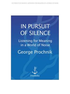 Les médias et les bruits du silence
