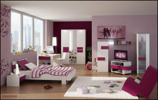 Chambre fille rose  Paperblog